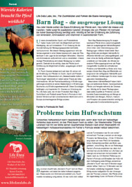 Test von Farriers Formula Double Concentrate in Horsewoman