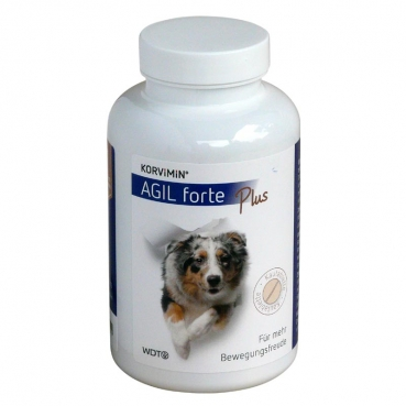 Korvimin Agil forte plus 65 Kautabletten (Verpackungsgröße: 1 Dose)
